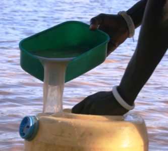 Polluted water addressed by the International Collaborative system