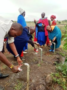 Clean water in rural east Africa