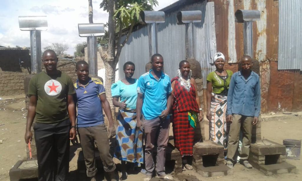 Maasai Stoves & Solar installation training with the Sukuma people