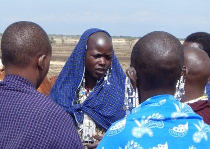 Maasai women herders